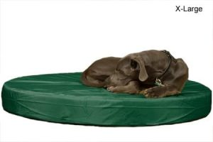 K9 Ballistics Round Orthopedic TUFF Bed