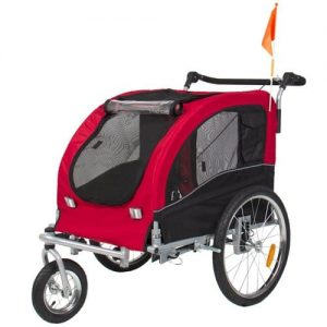 Best Choice Products 2 in 1 Pet Dog Bike Trailer Stroller Jogger