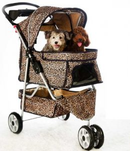 All Terrain Extra Wide 3 Wheels Stroller