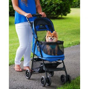 Pet Gear Happy Trails No Zip Stroller