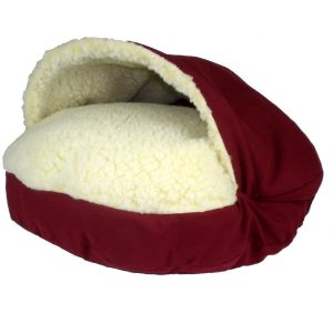 Dog Bed For Winter: Snoozer Cozy Dog Cave