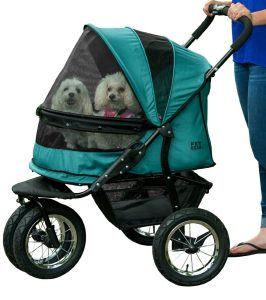 Pet Gear No Zip Double Dog Stroller