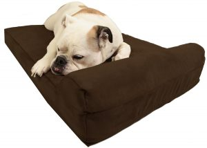 "Big Barker Mini - 4"" Pillow Top with Headrest for Small and Medium Sized Dogs"