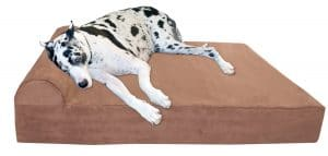 "Big Barker 7"" Pillow Top Orthopedic Dog Bed for Large and Extra Large Breed Dogs"