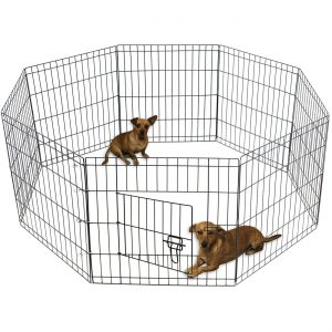 Oxford Animal Playpen Large Metal Wire Folding Exercise Yard Fence