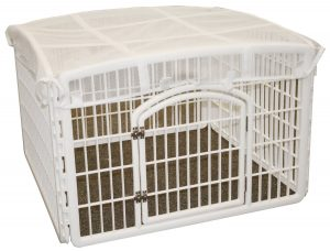 IRIS Plastic Pet Playpen Roof