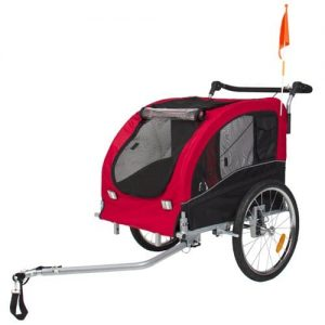 Best Choice Products 2 in 1 Pet Dog Bike Trailer