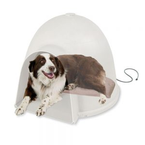 K&H Manufacturing Lectro-Soft Igloo Style Heated Dog Bed