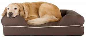 Friends Forever 100% Suede Dog Bed for Medium Breed Dogs