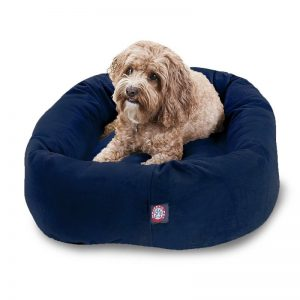 Dog Bed By Majestic Pet Products Navy Blue