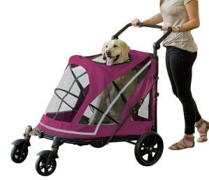 Pet Gear No-Zip Stroller - Large and Extra Large