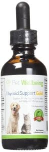 Pet Wellbeing Thyroid Support Gold