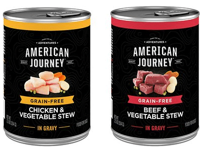 American Journey Grain-Free Canned Dog Food