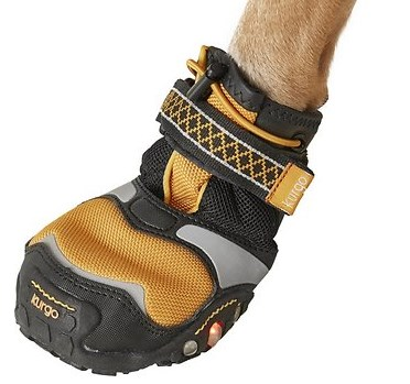 Kurgo Step & Strobe Dog Boots, 4 count