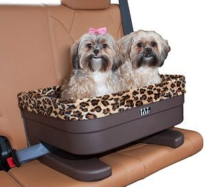 Pet Gear Bucket Booster Car Seat for DogsCats