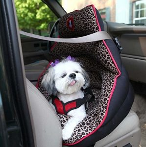 PupSaver Crash-Tested Car Safety Seat for Small Dogs