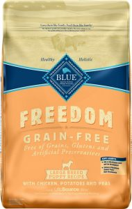 Blue Freedom puppy food