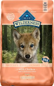 Blue Wilderness puppy food