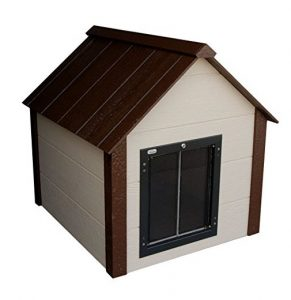 Climate Master Plus Insulated Dog House with Door