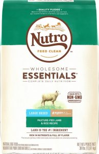 Nutro lamb puppy food