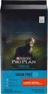 Purina Pro Plan focus large breed puppy food