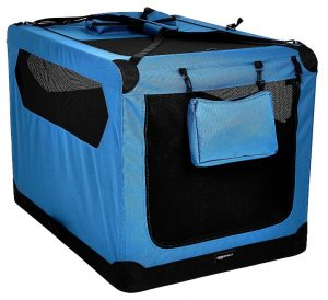 AmazonBasics Premium Folding Portable Soft Pet Crate