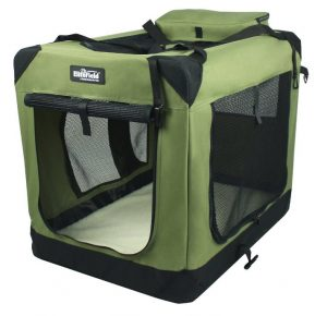 EliteField 3-Door Folding Soft-Sided Dog Crate
