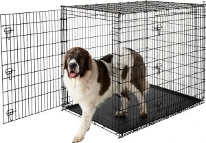 Frisco XX-Large Heavy Duty Double Door Dog Crate