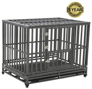 LUCKUP Heavy Duty Dog Cage