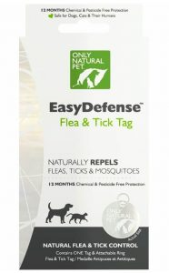 Only Natural Pet EasyDefense Flea, Tick & Mosquito Dog & Cat Collar Tag
