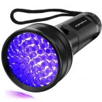 Vansky 51 LED Ultraviolet Blacklight Pet Urine Detector