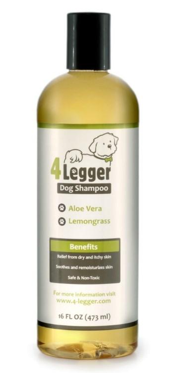 4-Legger Organic Lemongrass & Aloe Dog Shampoo