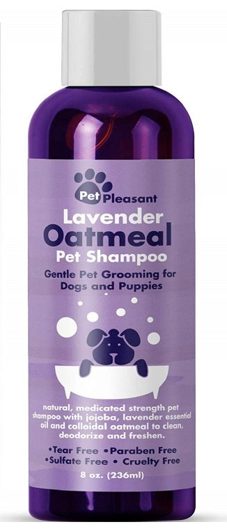 Pet Pleasant Shampoo with Pure Lavender Essential Oils