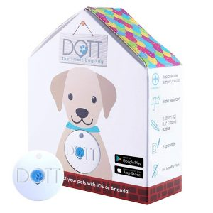 DOTT The Smart Dog Tag - Bluetooth Tracker for Dogs