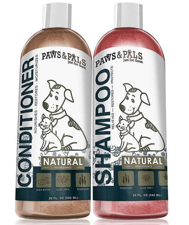 Paws & Pals Oatmeal Shampoo and Conditioner