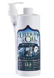 Ultra Oil Skin & Coat Supplement with Hempseed Oil