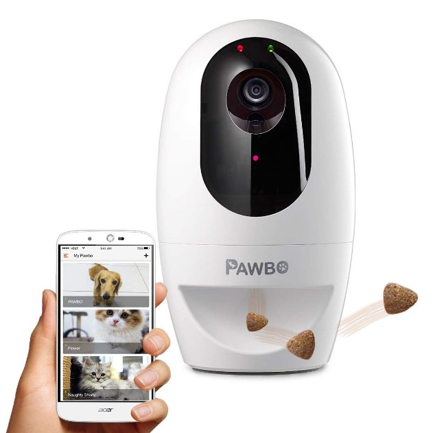 Pawbo+ Wi-Fi Interactive Pet Camera