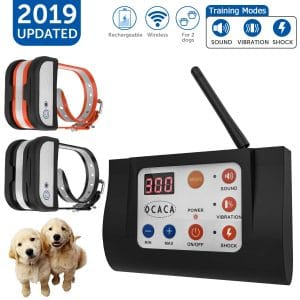 OCACA 2019 Updated Wireless Dog Fence System