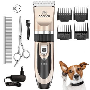 oneisall Dog Shaver Clippers Low Noise