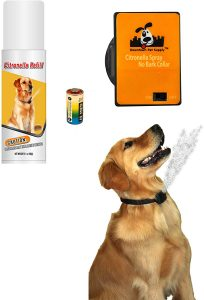 Downtown Pet Supply NO BARK Collar Citronella Spray Collar
