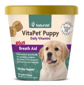 NaturVet – VitaPet Puppy Daily Vitamins for Dogs