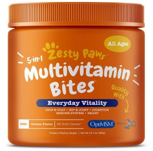 Zesty Paws Multivitamin Treats for Dogs