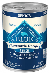 Blue Buffalo Natural Senior Wet Dog Food Chicken