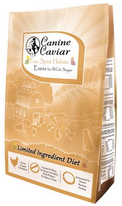 Canine Caviar Limited Ingredient Diet Free Spirit Holistic Entrée All Life Stages Dry Dog Food