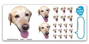 #2 Custom Face Stickers, Photo Stickers, Stickers of Your Dog