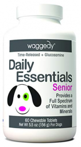 Waggedy Chewable Dog Vitamins for Every Life Stage