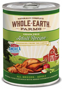 Whole Earth Farms Canned Dog Food