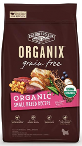 Castor & Pollux Organix Grain Free Organic Small Breed Recipe