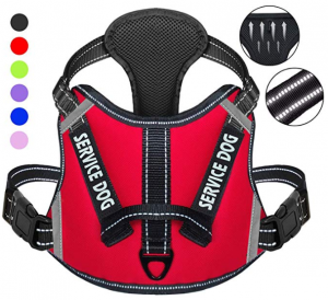 Cymiler Dog Harness,No-Pull Service Dog Harness