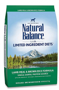Natural Balance L.I.D. Limited Component Dishes